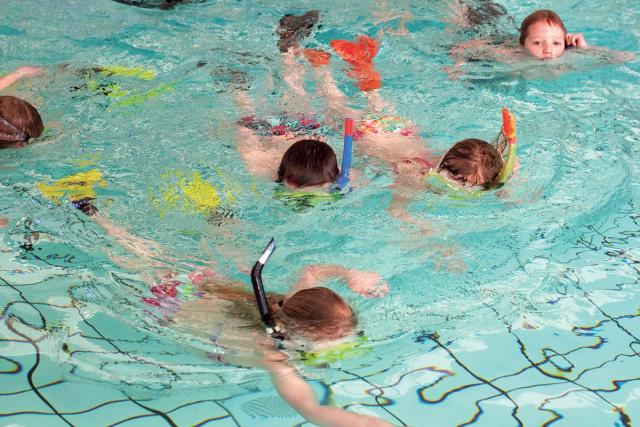 snorkelen zwembad de waterdam volendam